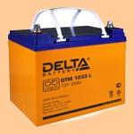 Аккумуляторная батарея (АКБ) к ибп Delta DTM 1233 L (12В/33 А·ч) 1233 L (12-33) для насосов и котлов - фото