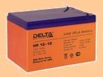 Аккумуляторная батарея (АКБ) к ибп Delta HR 12-12 (12В/12 А·ч) 12-12 (12120) - фото