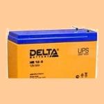 Аккумуляторная батарея 12V/9Ah Delta HR 12-9 (12В/9 А·ч) 12-9 (АКБ) - фото