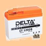 Аккумулятор стартерный Delta CT 12026 (2.5 А·ч) 12026 (YTR4A-BS) - фото
