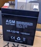 (АКБ) для ( Ибп ) 12V/5Ah AGM HR-1221 F2 - фото