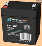 12V/5Ah ВОСТОК СК 1205 Аккумуляторная батарея для ибп - фото