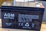 АКБ для Аккумулятор для ибп 12V/8,5Ah AGM GP-1290 F2 - фото