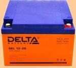 GEL 12-26 Батарея для ибп Delta - фото