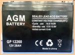 АКБ для ибп 12V/28Ah AGM GP 1226 (1228) - фото