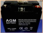 АКБ для ИБП 12V/45Ah AGM GPL 2017 - фото