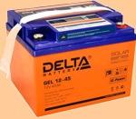 GEL 12-45 Батарея для ибп Delta - фото