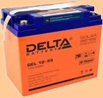 GEL 12-55 Батарея для ибп Delta - фото
