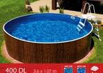 Azuro 400DL+ Песчаный фильтр 5м3/ч.Каркасный Морозостойкий бассейн +фильтр Hayward (5м3/ч), насос Speck - фото