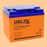 Аккумуляторная батарея (АКБ) к ибп Delta DTM 1240 L (12В/40 А·ч) 1240 L (12-40) для насосов и котлов - фото