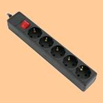 Сетевой фильтр Sven Optima Base, 5 розеток, 1.8 м 5 розеток, 1.8 м 5 розеток - фото