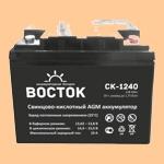 Аккумуляторная батарея к ибп (АКБ) CK-1240 (12-40) - фото