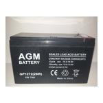 (АКБ) для ( Ибп ) 12V/7,0Ah AGM GP 1272 (28W) - фото