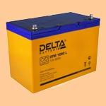 Аккумуляторная батарея (АКБ) к ибп Delta DTM 1290 L (12В/90 А·ч) 1290 L (12-90) для насосов и котлов - фото