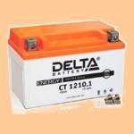 Аккумулятор стартерный Delta CT 1210.1 (10 А·ч) 1210.1(YTZ10S) - фото