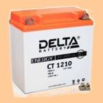 Аккумулятор стартерный Delta CT 1210 (10 А·ч) 1210 (YB9A-A, YB9-B, 12N9-4B-1) - фото