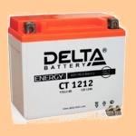 Аккумулятор стартерный Delta CT 1212 (12 А·ч) (