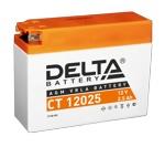 Аккумулятор стартерный Delta CT 12025 (2.5 А·ч) 12025 (12 v, 2,5 ah) YT4B-BS - фото
