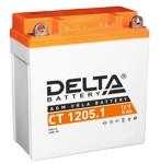 Аккумулятор стартерный Delta CT 1205.1 (5 А·ч) 1205.1 (