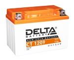 Аккумулятор стартерный Delta CT 1209 (9 А·ч) 1209 (YTX9-BS) - фото