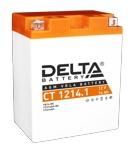 Аккумулятор стартерный Delta CT 1214 (15 А·ч) 1214.1(YB14-BS, YTX14AH, YTX14AH-BS ) - фото