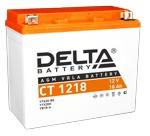 Аккумулятор стартерный Delta CT 1218 (YTX20-BS, YTX20H,YB16-B-CX,YB16-B, YB18-A) - фото
