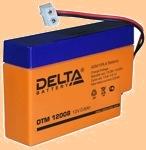 Аккумуляторная батарея 12V/0.8Ah Delta DTM 12008 (12В/0.8 А·ч) 12008 - фото