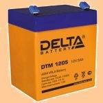 Delta DTM 1205 (12В/5 А·ч) (АКБ) - фото