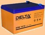 Аккумуляторная батарея 12V/12Ah Delta DTM 1212 (12В/12 А·ч) 1212 (АКБ) - фото
