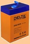 Аккумуляторная батарея 6V/4.5Ah Delta DTM 6045 (6В/4.5 А·ч) 6045 (АКБ 645) - фото