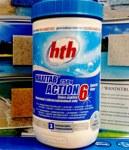 МНОГОФУНКЦИОНАЛЬНЫЕ Двухслойная таблетка – быстрый и медленный хлор, 1кг Химия для бассейна hTh - фото