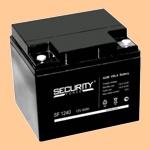 Аккумуляторная батарея Security Force SF 1240 (12В/40 А·ч) 1240 (акб) для источника бесперебойного питания (12-40) - фото