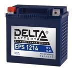 Аккумулятор для мотоцикла стартерный Delta EPS 1214 (14 А·ч) 1214 YTX14-BS, YTX14H-BS - фото
