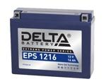 Аккумулятор для мотоцикла стартерный Delta EPS 1216 (16 А·ч) 1216 YTX16AL-A2 - фото