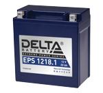 Аккумулятор для мотоцикла стартерный 12V/18Ah Delta EPS 1218.1 (20 А·ч) 1218.1 YTX20СH-BS - фото