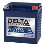 Аккумулятор для мотоцикла стартерный 12V/30Ah Delta EPS 1230 (30 А·ч) 1230 YTX30HL-BS, YTX30L-B, YTX30L - фото