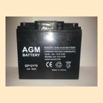 (АКБ) для ( Ибп ) 12V/17Ah AGM GP 12170 - фото