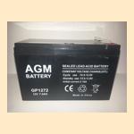 (АКБ) для ( Ибп ) 12V/7,2Ah AGM GP 1272 (1207) - фото