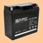 Аккумуляторная батарея для ибп 12V/17Ah Security Force SF 1217 (12В/17 А·ч) 1217 - фото