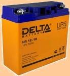 Аккумуляторная батарея (АКБ) к ибп Delta HR 12-18 (12В/18 А·ч) 12-18 (1218 ) - фото