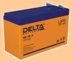 Аккумуляторная батарея (АКБ) к ибп Delta HR 12-9 (12В/9 А·ч) 12-9 (1234) - фото