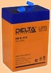Аккумуляторная батарея (АКБ) к ибп Delta HR 6-4.5 (6В/4.5 А·ч) 6-4.5 - фото
