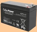 Аккумуляторная батарея для ибп 12V/9Ah CyberPower GP9-12 (1209,1234) - фото