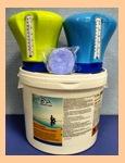 Плавающий дозатор-термометр + 1шт Chemoform 200г - фото