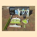 Набор аксессуаров для ухода за бассейном Green-Line AZURO - фото