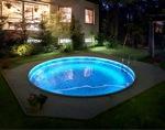 Комплект светодиодной подсветки 3D по кругу для бассейна 4,6m - фото