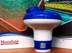Биопоплавок, плавающий дозатор для бассейна малый - фото