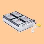 Сменный батарей (АКБ) в Apc RBC24 - фото