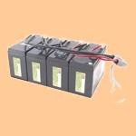 Сменный батарей (АКБ) в Apc RBC25 - фото