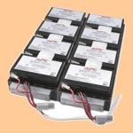 Сменный батарей (АКБ) в Apc RBC27 - фото